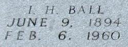 I. H. Ball
