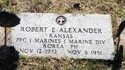 PFC Robert Ellis Alexander