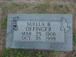 Nuella Belle <i>Weber</i> Oefinger