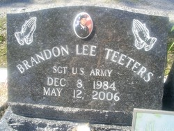 Sgt Brandon Lee Teeters