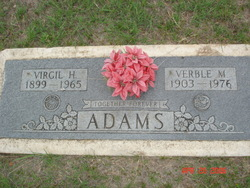 Verble Mamie <i>Brewer</i> Adams