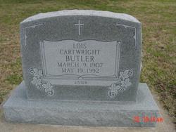 Lois <i>Cartwright</i> Butler