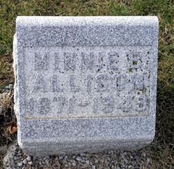 Minnie C. <i>Beckett</i> Allison
