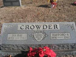 Iva Ray <i>Hastings</i> Crowder