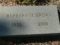 Barbara M. Brown