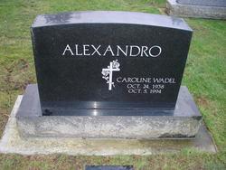 Caroline <i>Wadel</i> Alexandro