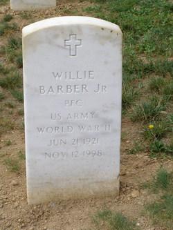 Willie Barber, Jr