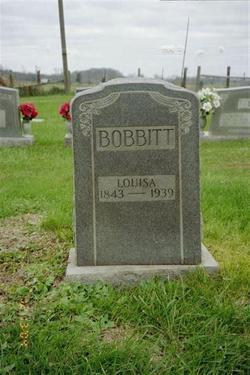 Ann Louisa <i>Meece</i> Bobbitt