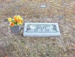 Claudia <i>Looney</i> Bailey