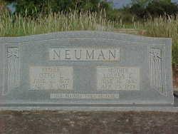 Louisa Christina <i>Balzen</i> Neuman