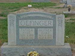 Anna Mary <i>Hauser</i> Oefinger