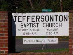 Jeffersonton Baptist Church Cemetery