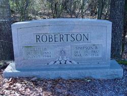 Lillie L. <i>Blasingame</i> Robertson