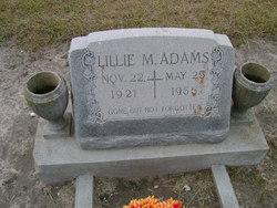 Lillie M Adams