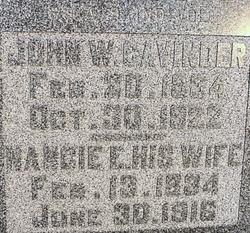 John W. Cavinder