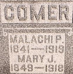 Mary Jane <i>Tallman Garriott</i> Comer