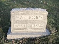 Maude M. Haniford