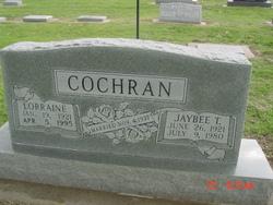 Lillian Lorrain <i>Fox</i> Cochran