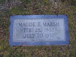 Maude <i>Tucker</i> Marsh
