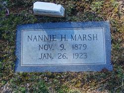 Nannie <i>Hawkins</i> Marsh