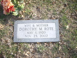 Dorothy M Rote