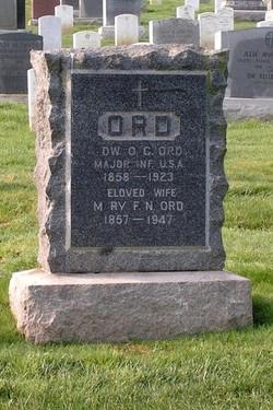 Maj Edward Otho Cresap Ord, II