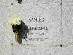 Beate <i>Feigenbaum</i> Kanter