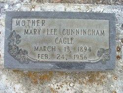 Mary Lee <i>Cunningham</i> Cagle