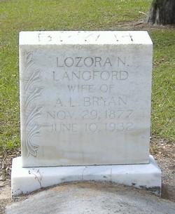 Lozora N. <i>Langford</i> Bryan