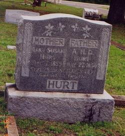 Mary Susan <i>Redus</i> Hurt