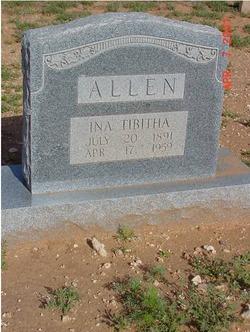 Ina Tibitha <i>McKinney</i> Allen