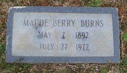 Maude <i>Berry</i> Burns