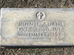 Pvt John F. Curtis