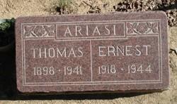 Pvt Ernest Ariasi