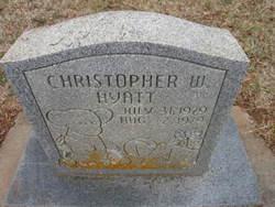 Christopher W Hyatt