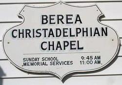 Berea Christadelphian Chapel Cemetery