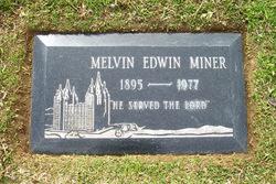 Melvin Edwin Miner