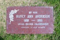 Nancy Ann <i>Rohwedder</i> Anderson