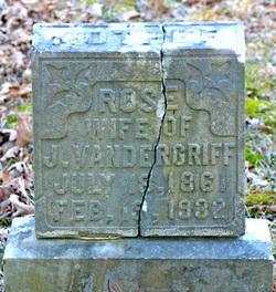 Rose Anna <i>Hatfield</i> Vandergriff