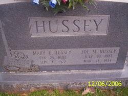 Mary Elizabeth <i>Kennedy</i> Hussey
