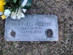 Ola Minnie <i>Falls</i> Pruette
