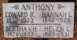 Bertha V. H. Anthony