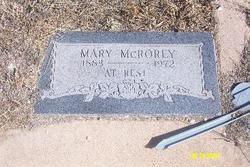Mary <i>McDorman</i> McRorey