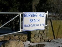 Burying Hill Beach Cemetery
