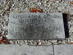 Baylis Earle Batson