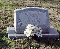 Dorothy Elizabeth <i>Regan</i> Tayman