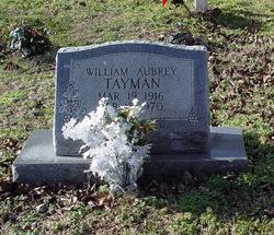 William Aubrey Tayman, Sr