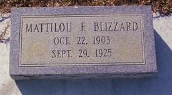 Mattilou J. <i>Fountain</i> Blizzard