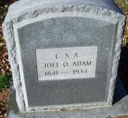 Lieut Joel Osborne Adam