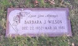 Barbara J Wilson